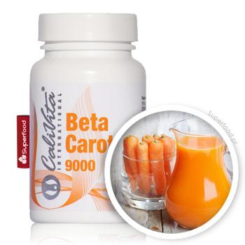 Beta Karoten - Tabletki firmy Calivita