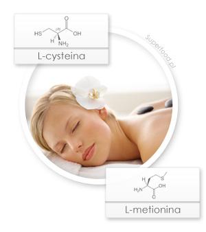 Beauty Formula - składniki: L-cysteina i L-metionina