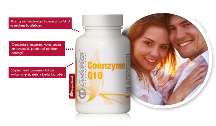 Naturalny koenzym Q10 w tabletkach firmy Calivita