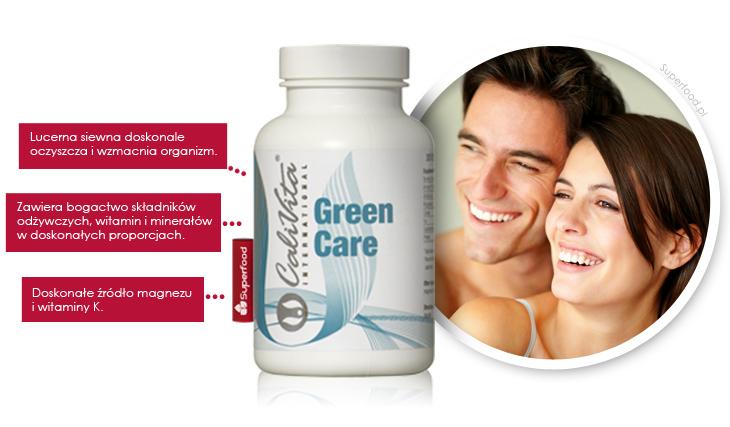 Green Care na oczyszczanie organizmu