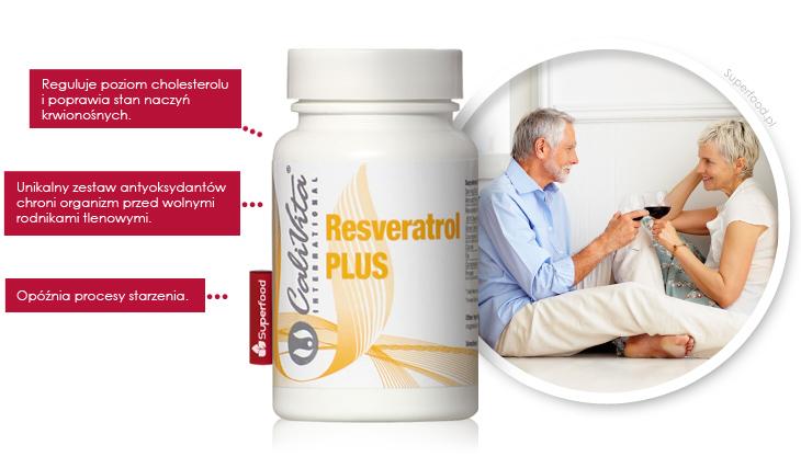 Resweratrol na wysoki cholesterol