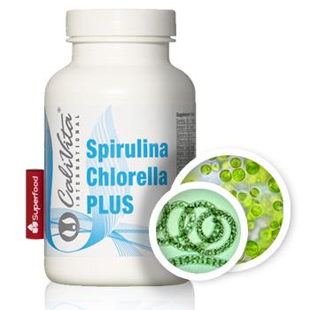spirulina chlorella