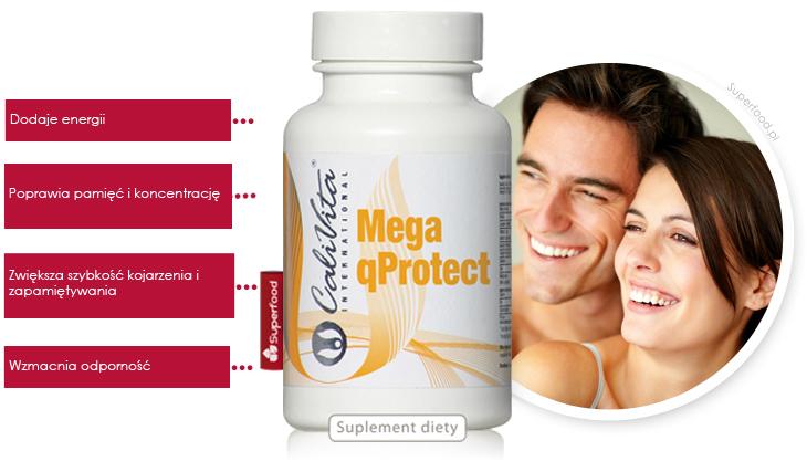 Mega Q Protect - pamięć i koncentracja