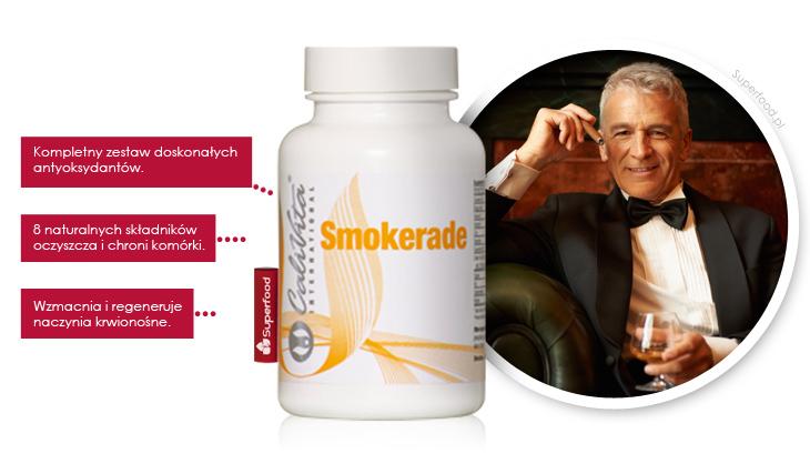 Smokerade antyoksydanty dla palaczy