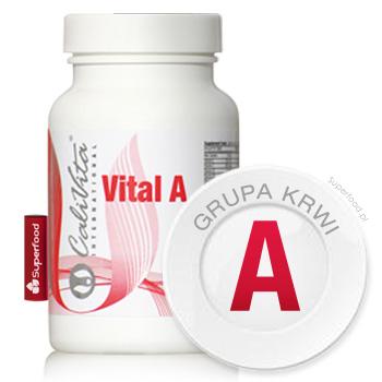 Zestaw witamin dla grupy krwi A